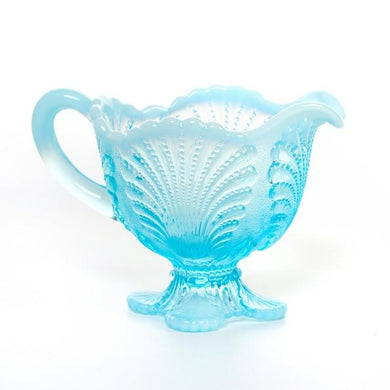 Shell Glass Creamer - 3 Color Options - Fortune And Glory - Made in USA Gifts