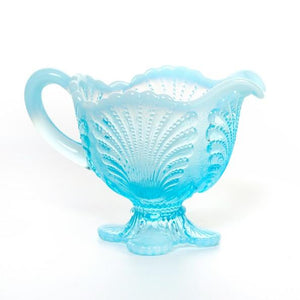 Shell Glass Creamer - 3 Color Options