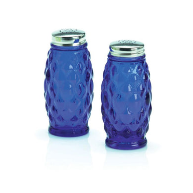 Elizabeth Glass Salt & Pepper - 3 Color Options