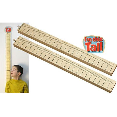 Growth Stick, I'm this Tall - Fortune And Glory - Made in USA Gifts