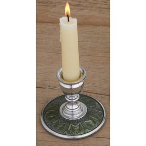 Leaf / Green Candlestick