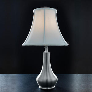 Deer Leap Pewter Lamp