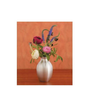 Forget Me Not Pewter Vase - Indoor Decor