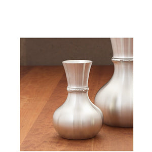 Everlasting Pewter Vase - Indoor Decor