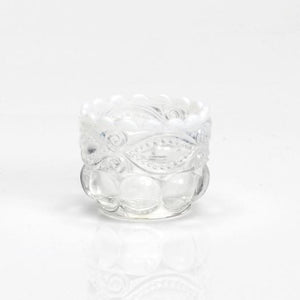 Eye Winker Glass Salt Dip - 4 Color Options - Baby Gifts