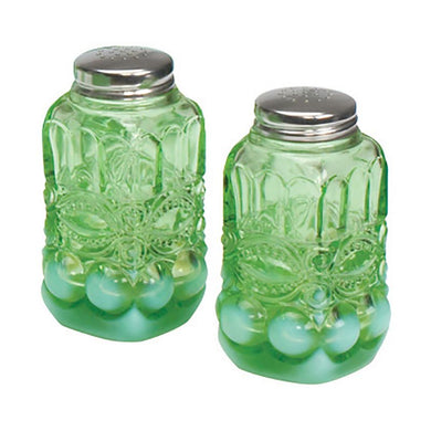 Eye Winker Glass Salt & Pepper Shaker - 5 Color Options