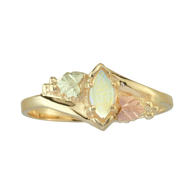 Sparkling Opal Black Hills Gold Ring I - Jewelry