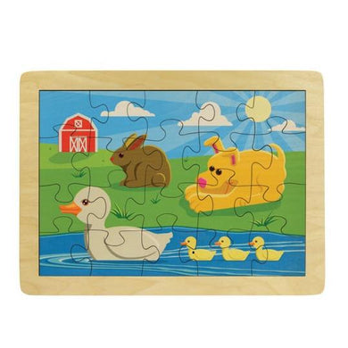 Puzzle Duck Pond - Wooden Toys