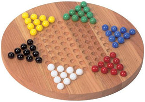 Chinese Checkers, Standard - Fortune And Glory - Made in USA Gifts