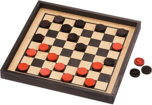 Checkers Premium Crown Set - Wooden Toys