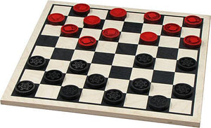 Checkers Players Choice Basic - Wooden Toys