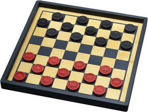 Checkers Premium Train Set - Wooden Toys