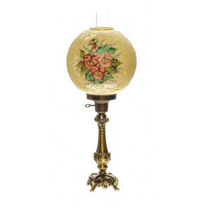 Victorian Ball Lamp - Pansy Luster