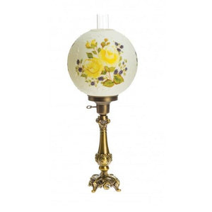 Victorian Ball Lamp - Roses & Raspberry