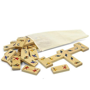 Dominoes, Backyard Birds - Fortune And Glory - Made in USA Gifts