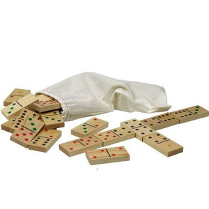 Standard Dominoes - Wooden Toys