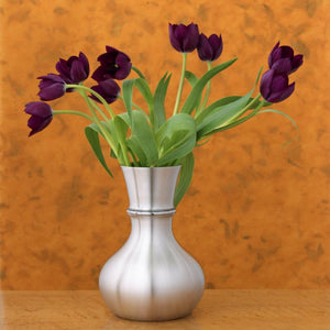 Lilac Pewter Vase - Indoor Decor