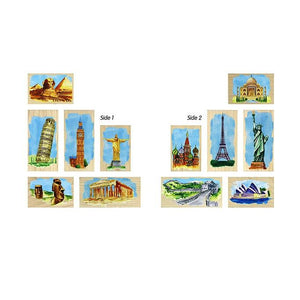 World Landmarks Block Set - Wooden Toys