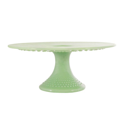 Gigi Glass Cake Plate - 3 Color Options