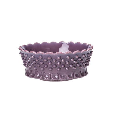 Gigi Hobnail Thumbprint Dish - 2 Color Options