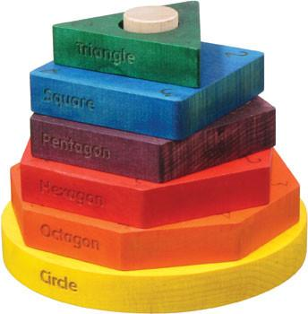 Colored Shape Stacker