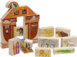 Noah's Ark Block Set - Fortune And Glory - Made in USA Gifts