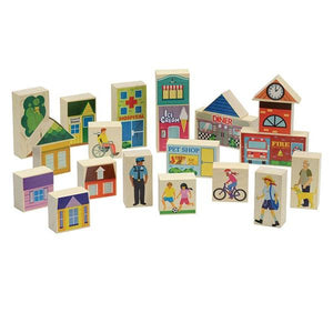 Main Street Block Set - Fortune And Glory - Made in USA Gifts