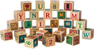 Printed ABC Blocks - Maple Landmark