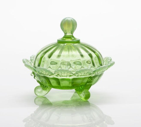 Glass Candy Dish - 5 Color Options