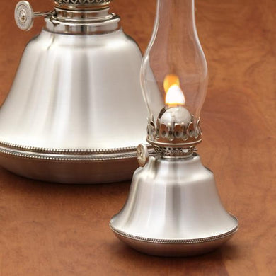 Addison Pewter Oil Lamp
