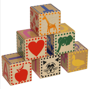 Baby Blocks - Holgate Toys - Fortune And Glory - Made in USA Gifts