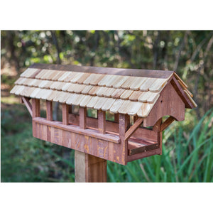 Covered Bridge Bird Feeder - Birdhouses