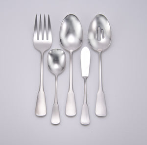 Candra Complete Flatware Set - Fortune And Glory - Made in USA Gifts