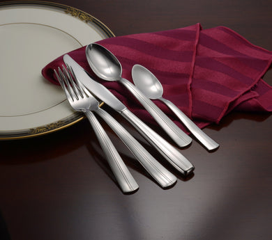 Cedarcrest Complete Flatware Set - Fortune And Glory - Made in USA Gifts
