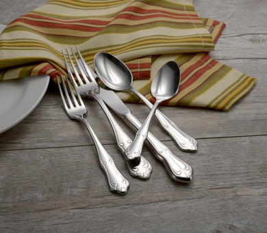Champlin Complete Flatware Set - Fortune And Glory - Made in USA Gifts