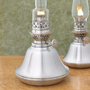 Cornwall Pewter Oil Lamp - Fortune And Glory - Made in USA Gifts