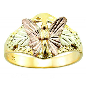 Black Hills Gold Butterfly Ring - Jewelry