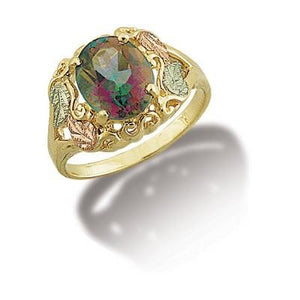 Black Hills Gold Mystic Fire Topaz Ring - Jewelry