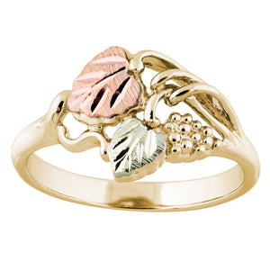 Traditional Black Hills Gold Ring I - Jewelry