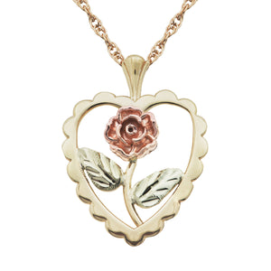 Dakota Rose Black Hills Gold Pendant & Necklace - Jewelry