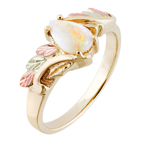 Sparkling Opal Black Hills Gold Ring II - Jewelry