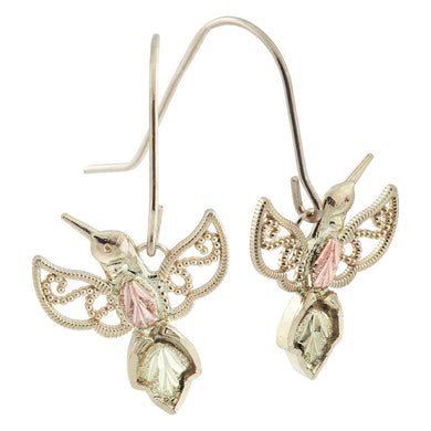 Hummingbird Black Hills Gold Earrings - Jewelry