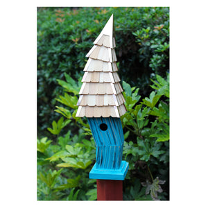 Birdiwampus Birdhouse - 4 Color Options - Birdhouses