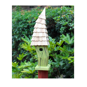 Birdiwampus Birdhouse - 4 Color Options - Fortune And Glory - Made in USA Gifts