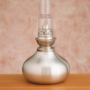 Onion Pewter Oil Lamp - Indoor Decor