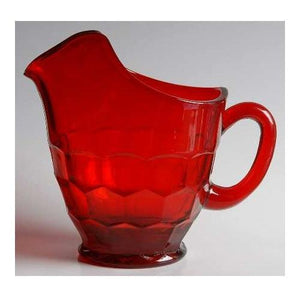 Georgian Glass Pitcher - 5 Color Options - Fortune And Glory - Made in USA Gifts