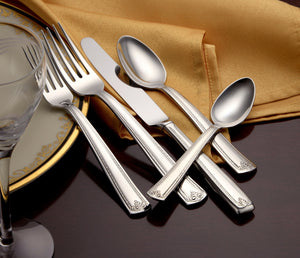 Prestige Complete Flatware Set - Fortune And Glory - Made in USA Gifts
