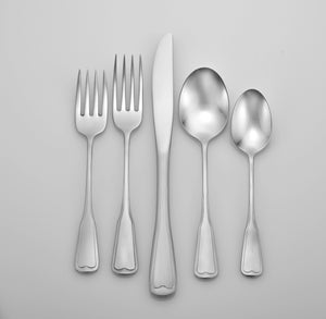 Satin Richmond Complete Flatware Set - Fortune And Glory - Made in USA Gifts