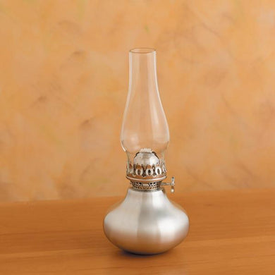 Scallion Pewter Oil Lamp