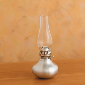 Scallion Pewter Oil Lamp - Fortune And Glory - Made in USA Gifts